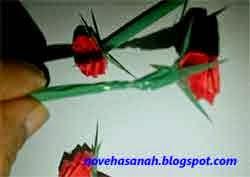 Cara Membuat Bunga Mawar Nan Cantik Dari Kertas Komunitastkj