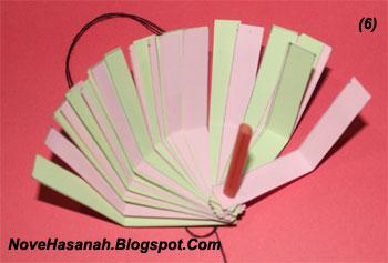 cara membuat lampion imut dari kertas bekas 5