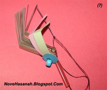 cara membuat lampion imut dari kertas bekas 7